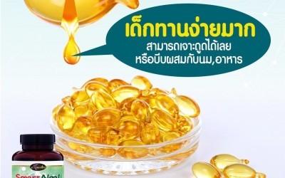 อาหารเสริมบำรุงสมอง Auswelllife Smart Algal DHA